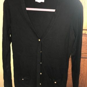 NWOT- Lilly Pulitzer Black Cardigan